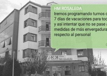 Mensaje de whatsapp hm hospitales rosaleda